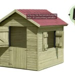 Kinderspielhaus Holz - Marie