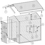 Kinderspielhaus Holz Bauplan Marie